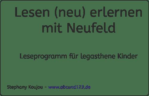 Neufeld, Leseprogramm, Legasthenie, Legasthenietrainer, Fachtagung