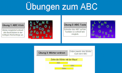 ABC, PC, Spiel, Legasthenie, Lesen, Schreiben, kostenlos, LUD DVD
