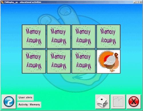 Childsplay, Wahrnehmung, Legasthenie, Dyskalkulie, Training