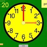 Kostenloser Uhrzeittrainer, Uhrzeit, Lernprogramm, lernen, Computer, DVD, Legasthenie, Dyskalkulie, Eltern, Kinder, kostenlos