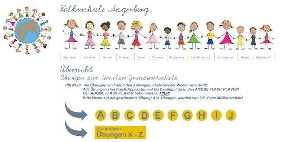Fernitzer Grundwortschatz, Grundwortschatz, Rechtschreibung, online, Eltern, Kinder, Lehrer, Grundschule, Förderschule, EÖDL, Symptomtraining, AFS-Methode