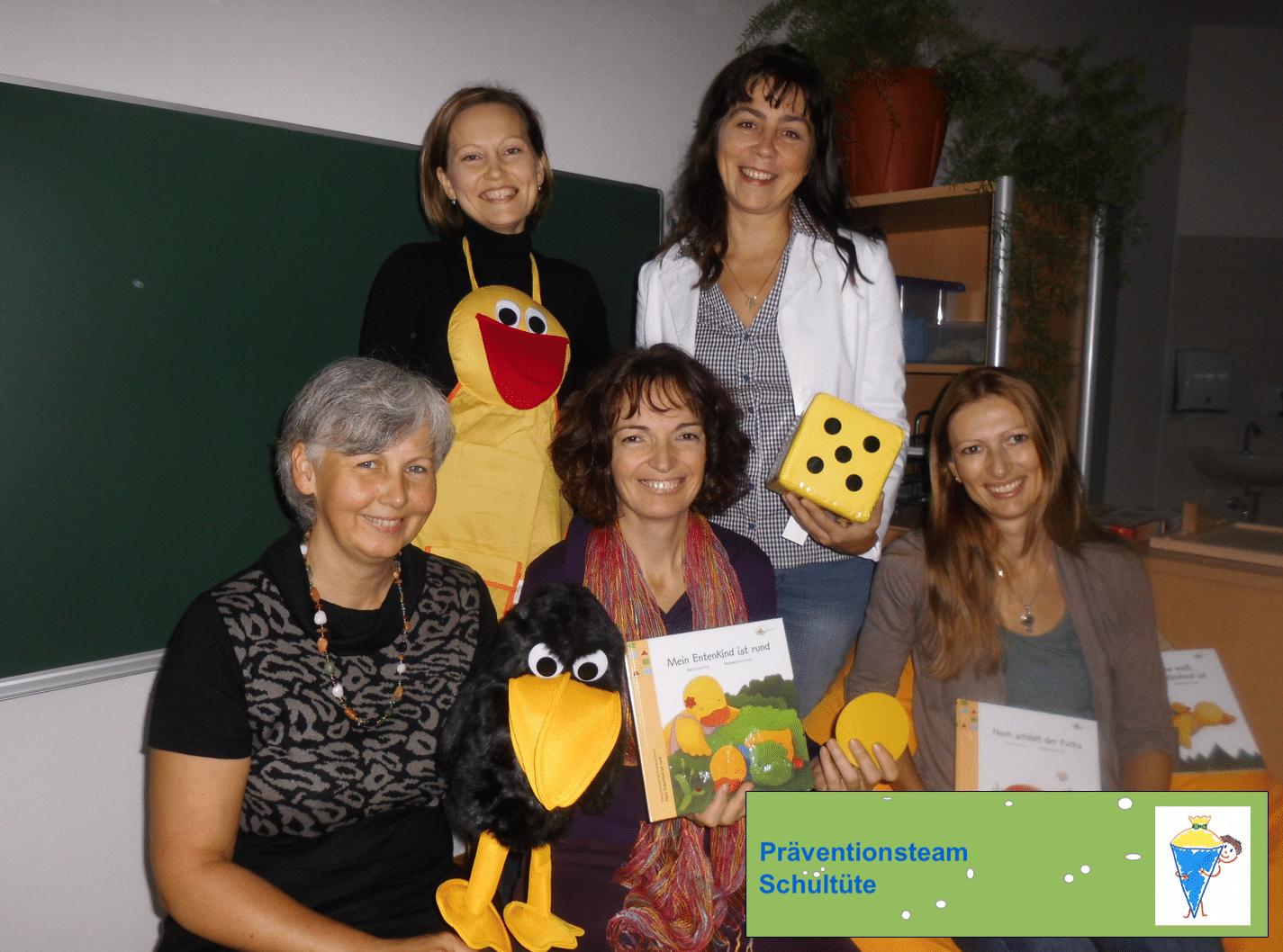 Christine Kalcher, Eveline Schwabl, Claudia Jaklitsch, Irina Kuhn, Roswitha Hafen