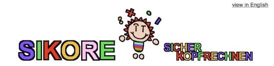 Sikore, Sicher Kopfrechnen, Dyskalkulie, Dyskalkulietraining, AFS-Methode, kostenlos, Schule, Eltern, AFS-Training