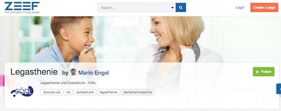 Legasthenie, Dyskalkulie, Legasthenietraining, Dyskalkulietraining, AFS-Methode, Social Media, Blog, Mario Engel