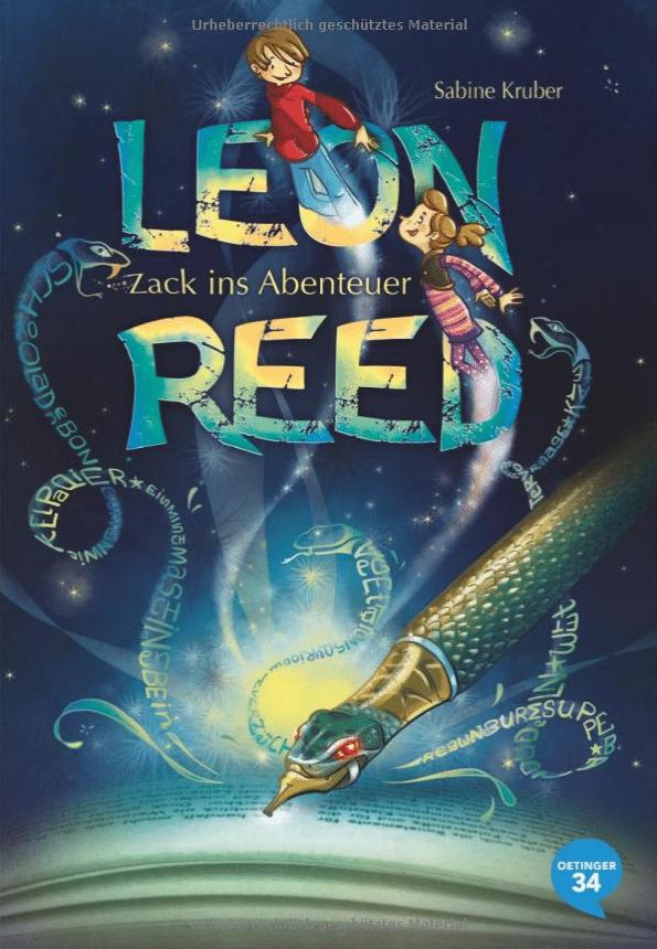 Buchtipp: Leon Reed - Zack ins Abenteuer, lesen, Legasthenie, AFS-Methode, EÖDL