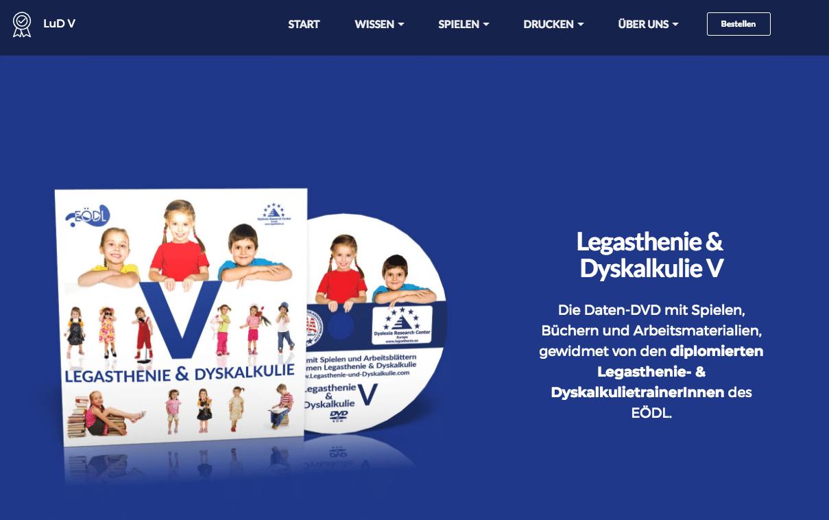 LUD V Legasthenie und Dyskalkulie 5, Legasthenie, Dyskalkulie, Legasthenietraining, Dyskalkulietraining, AFS-Methode, EÖDL