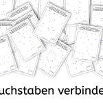 Buchstaben verbinden, Legasthenie, Buchstaben, Legasthenietraining, AFS-Methode