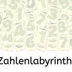 Zahlenlabyrinth, Zahlen, Wahrnehmung, Dyskalkulie, basales Training, AFS-Methode