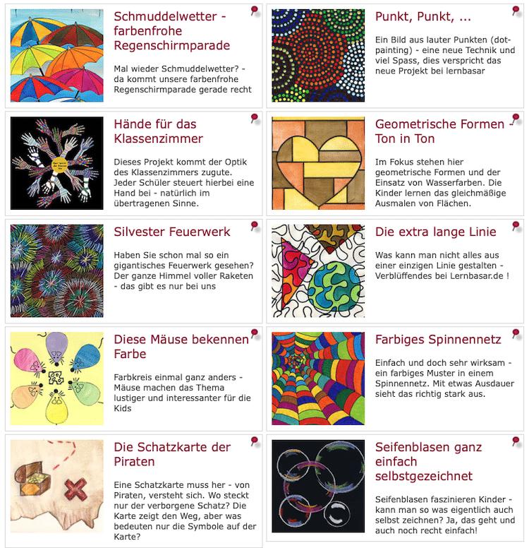 kreativ, Kunst, Kunstunterricht, lernbasar, linktipp, Malen, Zeichnen, Legasthenie, Legasthenietraining, Legasthenietrainer, Dyskalkulie, Dyskalkulietraining, Dyskalkulietrainer, AFS-Methode, Aufmerksamkeit